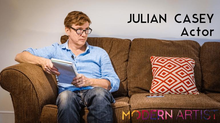 Acting In Short: Julian Casey - Modern Artist