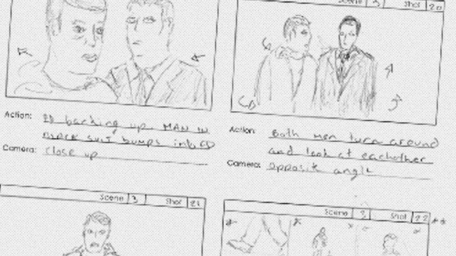 Storyboarding on Film Shortage