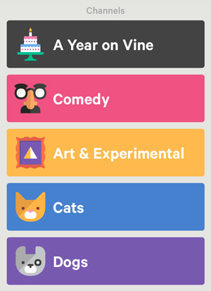 Vine Categories