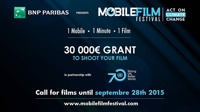 30 000 Grant to shoot your film