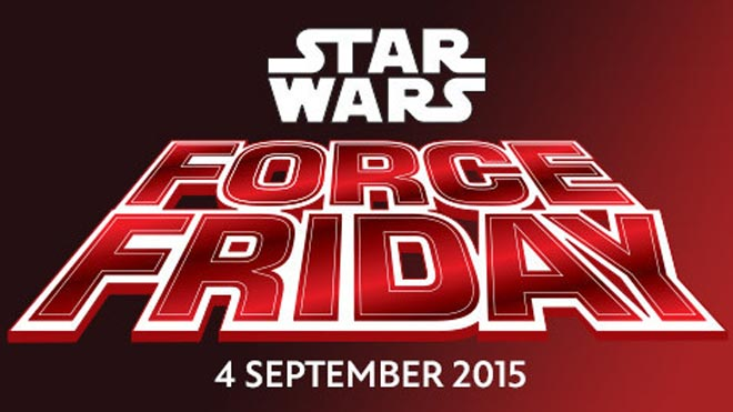 Star Wars Force Friday on Film Shortage