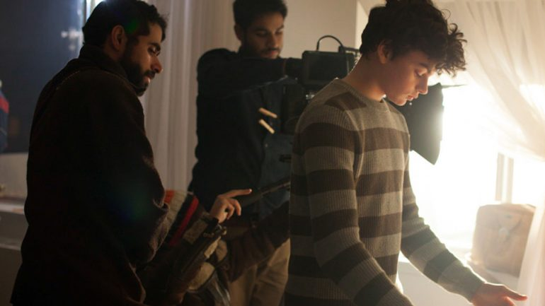 Breaking The Scene: on the set of Intruders