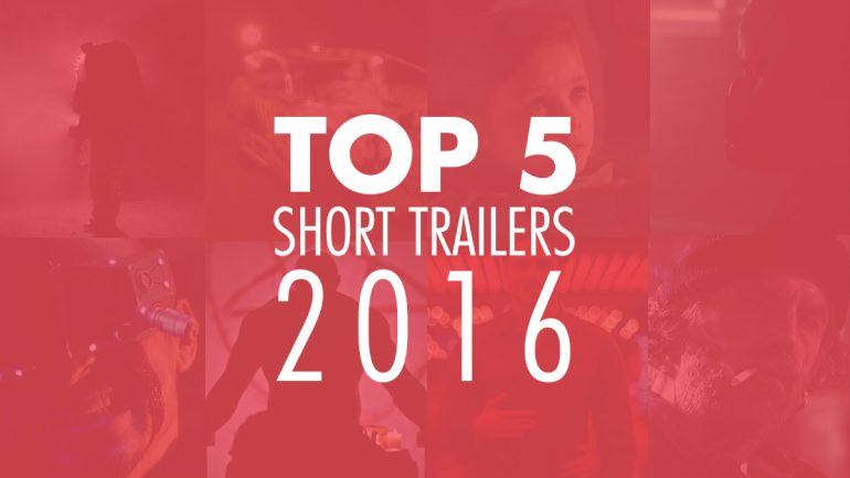 Top 5 Trailers of 2016