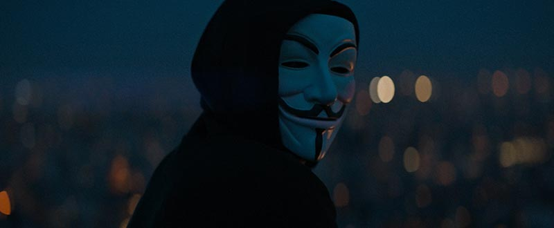 Breaking The Scene: A Report of Connected Events / V for Vendetta
