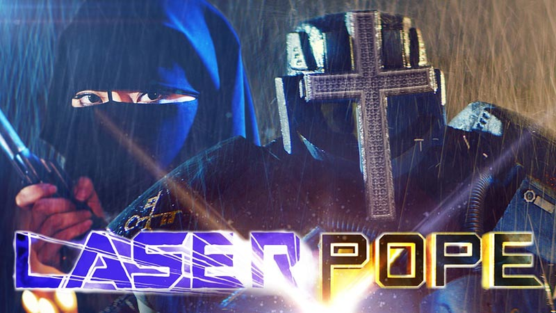 Laserpope // Crowdfunding Pick We Dig
