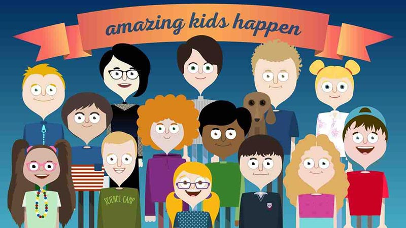 Amazing Kids Happen // Crowdfunding Pick We Dig