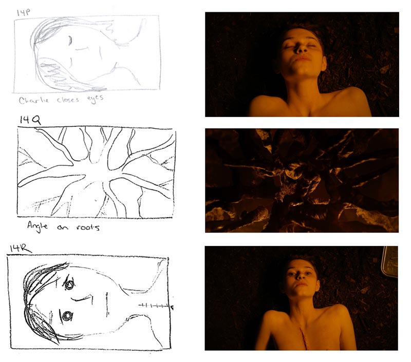 Breaking The Scene: Skin - Storyboard 2